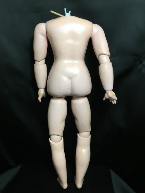 Antique Composition Doll Body - 4