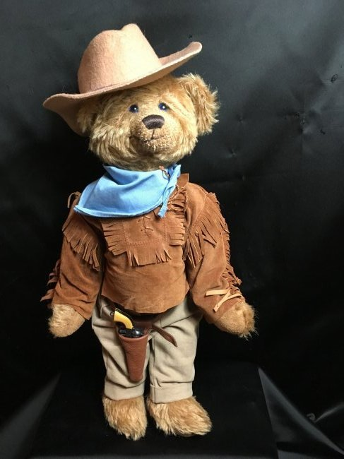 """All Original """" John Wayne -The Duke """" Teddy Bear 16"""""""
