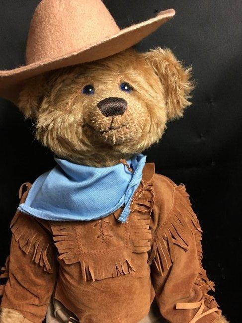 """All Original """" John Wayne -The Duke """" Teddy Bear 16"""" - 3"""