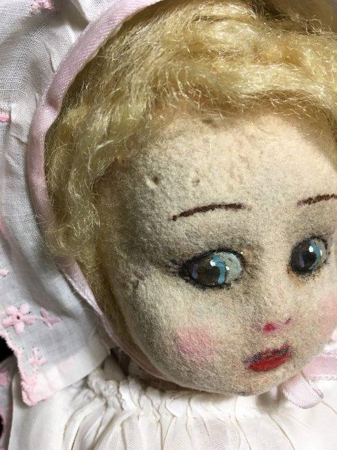 """Original Lenci Doll 13"""" - 3"""