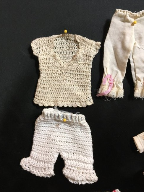 Lot of Antique/Vintage Doll Clothing Small Size - 2