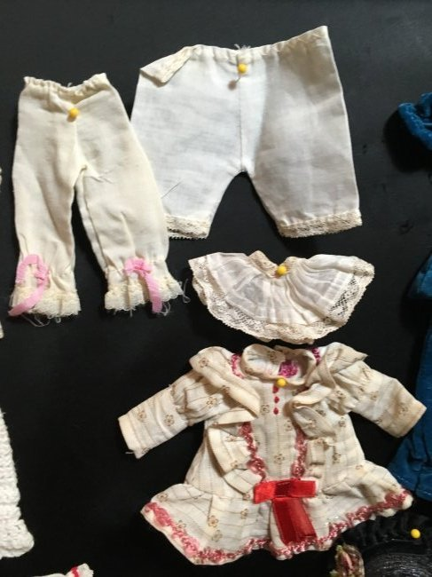 Lot of Antique/Vintage Doll Clothing Small Size - 3