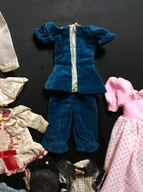 Lot of Antique/Vintage Doll Clothing Small Size - 4