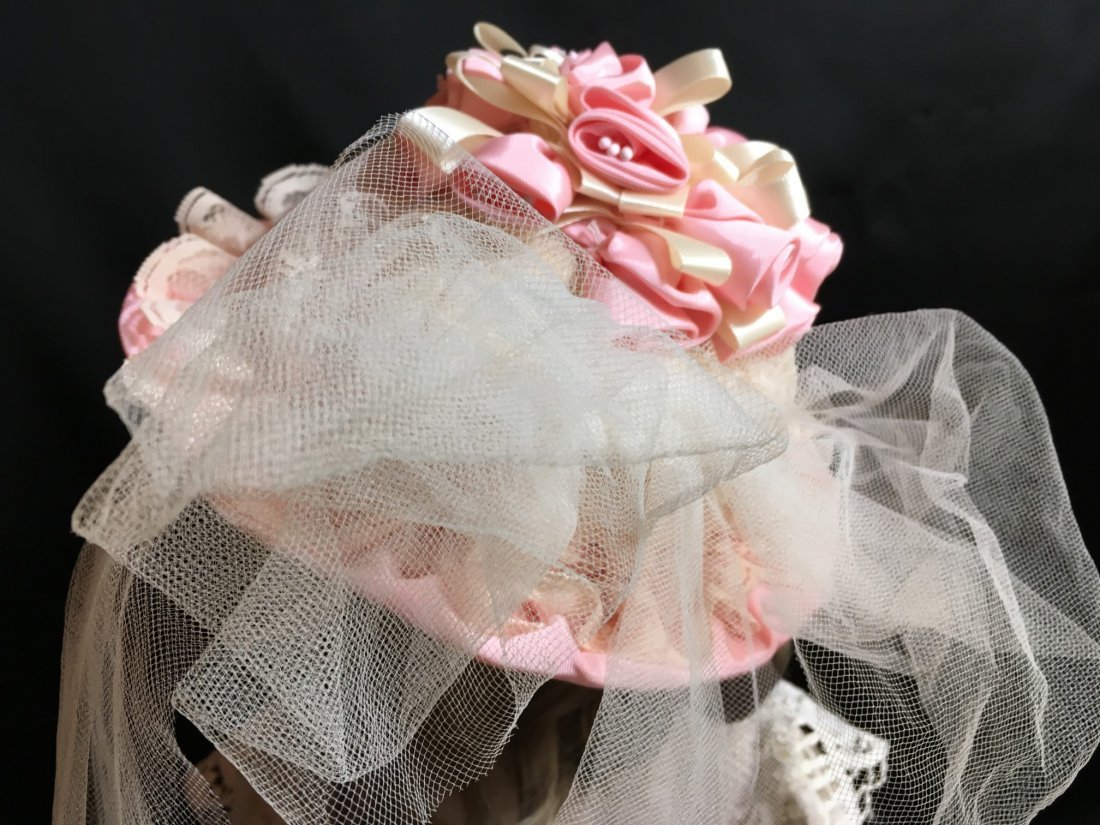 Antique Styled Doll Hat - 3