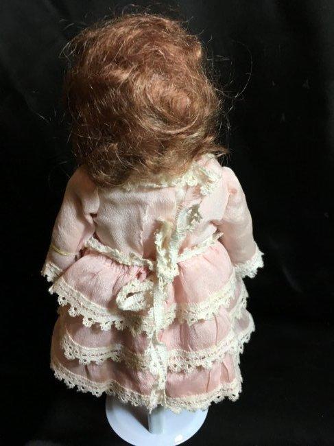 """10"""" Antique Rechnagel Bisque Head Doll - 2"""