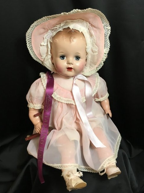 "Rare 22"" 1949 Schilling ~ Talking Doll ~"