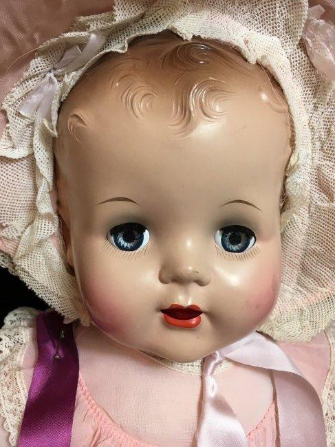 "Rare 22"" 1949 Schilling ~ Talking Doll ~ - 2"