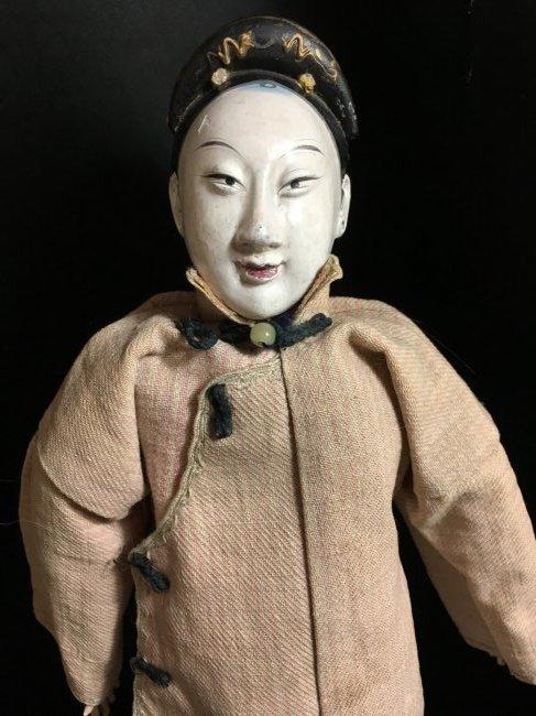 "Rare 1850's Original Oriental Opera Doll ~ 13"" - 2"