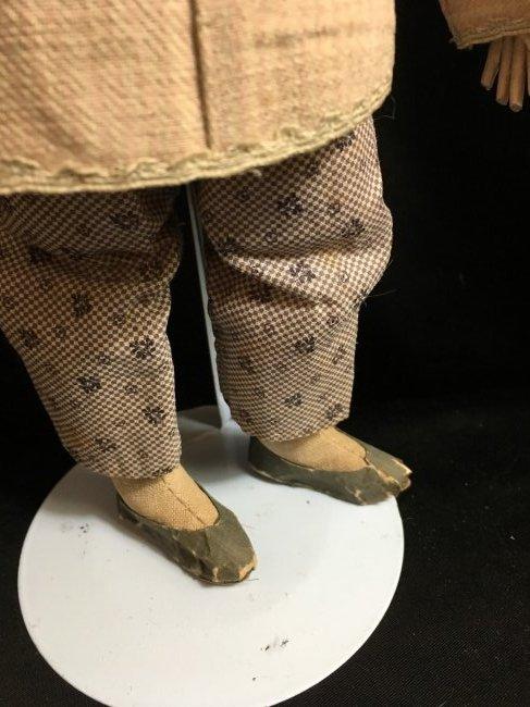 "Rare 1850's Original Oriental Opera Doll ~ 13"" - 3"
