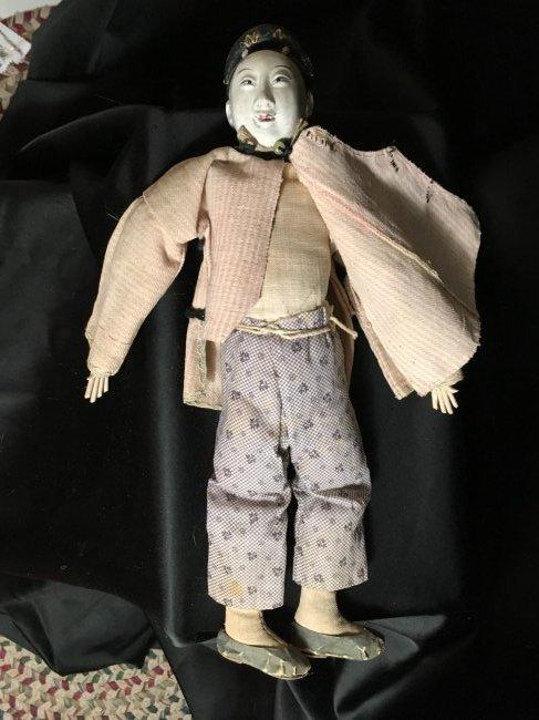 "Rare 1850's Original Oriental Opera Doll ~ 13"" - 6"