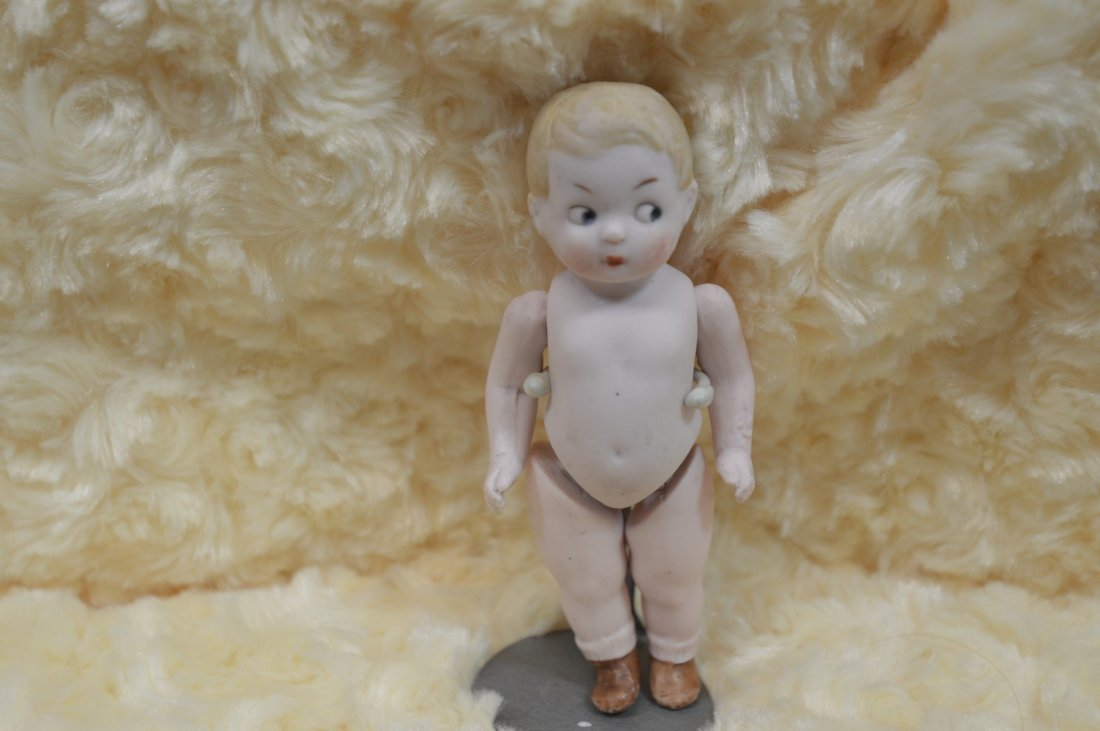 """All Bisque Doll 4 1/2"""""""