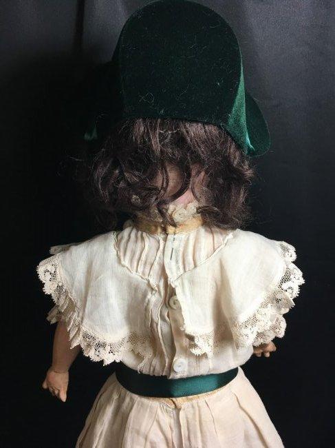 "22 1/2"" Antique Bisque Head Doll ~ 390 A 4 M ~ - 5"