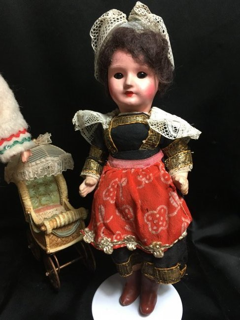 Lot of 2 Sweet Antique/Vintage  Dolls - 2