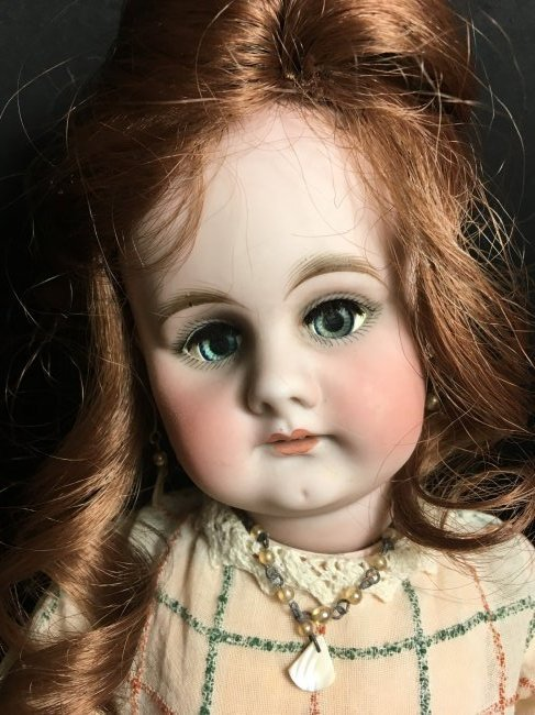 """17.5"""" Antique Bisque Head Character Doll - 2"""
