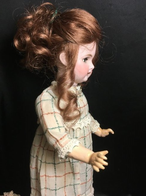 """17.5"""" Antique Bisque Head Character Doll - 3"""