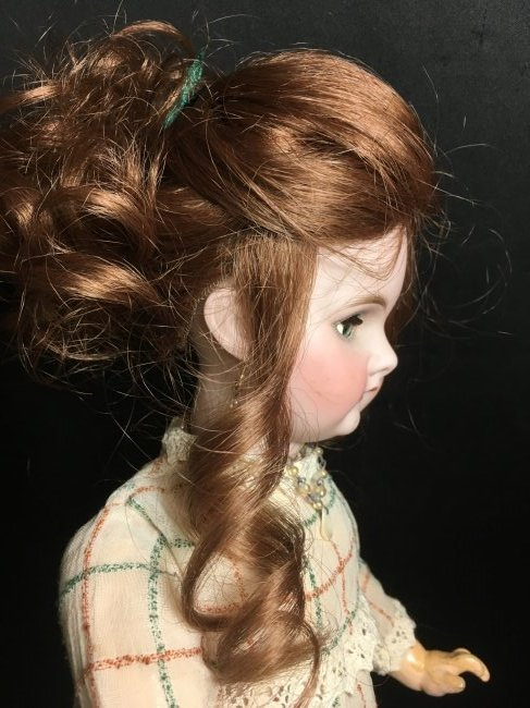 """17.5"""" Antique Bisque Head Character Doll - 4"""