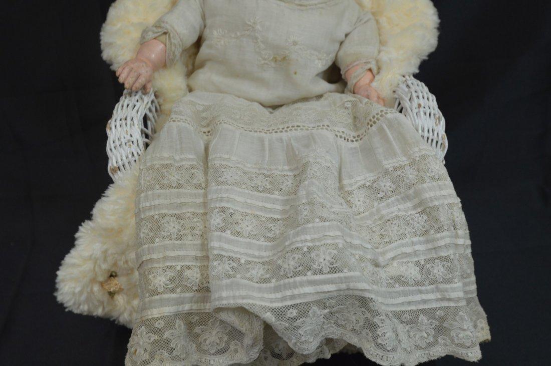 """Antique Newborn Baby ~Ernst Heubach ~ 16"""" - 2"""