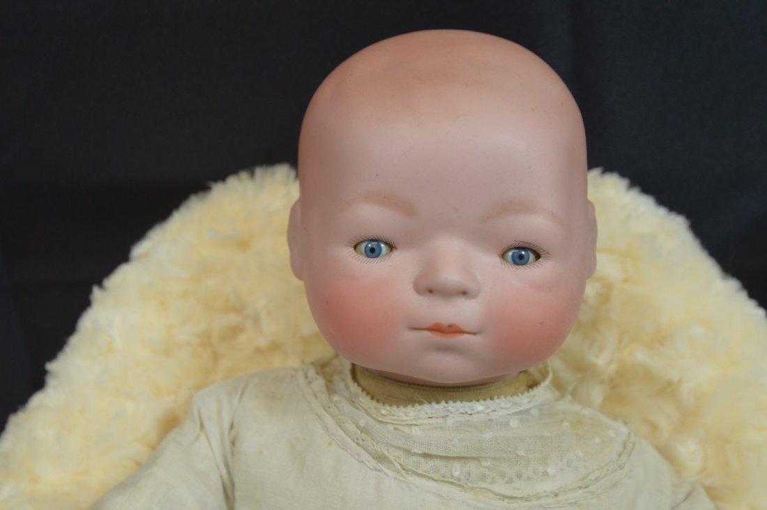 """Antique Newborn Baby ~Ernst Heubach ~ 16"""" - 3"""
