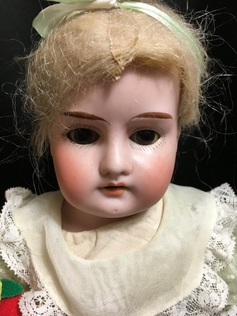 """14"""" AM Mabel Bisque Shoulder Head - 2"""