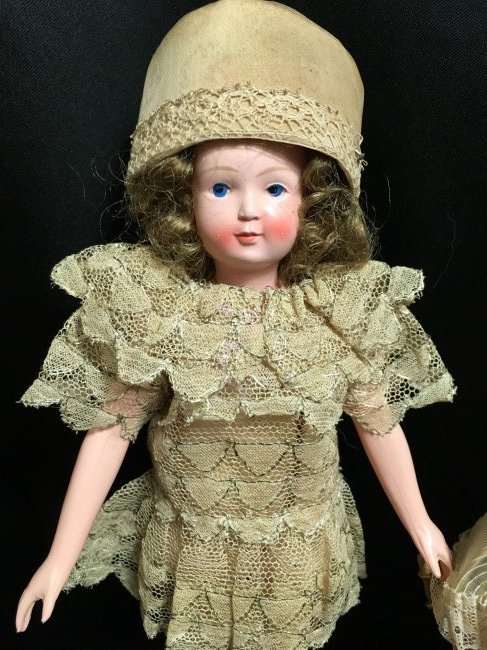 """8.5"""" Unique French Celluloid Doll ~ SNF~ - 2"""