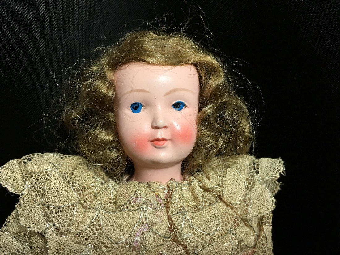 """8.5"""" Unique French Celluloid Doll ~ SNF~ - 5"""