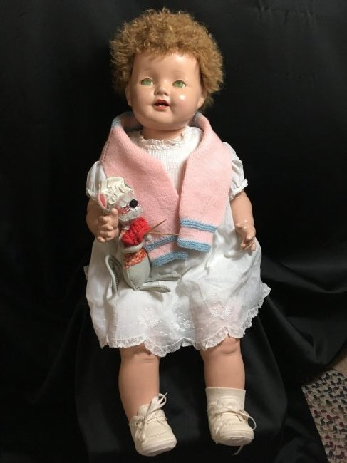 "24"" Effanbee Lovums Doll Composition 1930's"