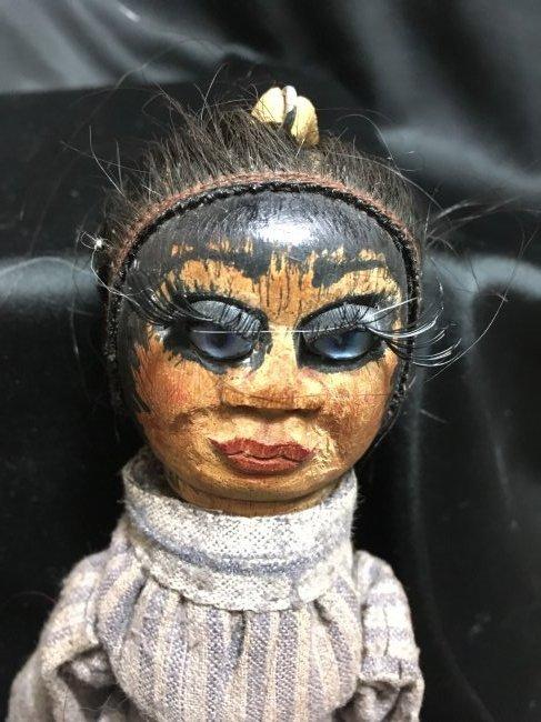 Lot of 5 Antique/Vintage Folk Art Dolls - 9