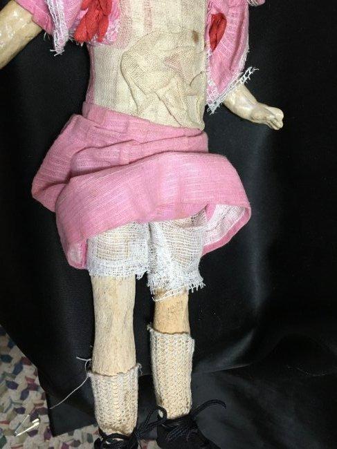 Lot of 3 Antique German Bisque Head Dolls One Original - 9