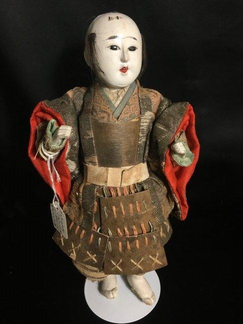 """9 1/2"""" Antique Japanese Warrior"""