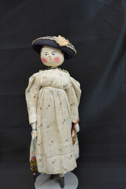 Peg Head Doll 19 1/2""