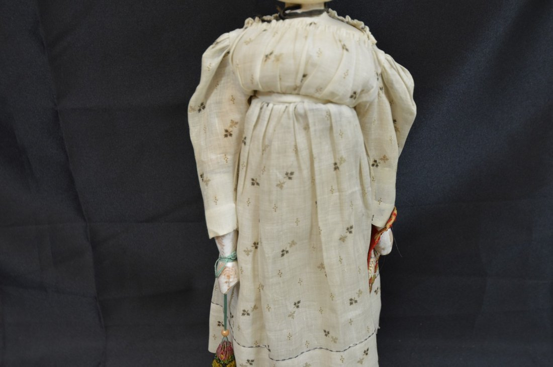"Peg Head Doll 19 1/2"" - 3"