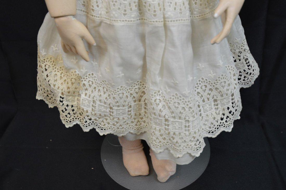 "Rare Antique German Franz Schmidt Doll 24"" - 10"