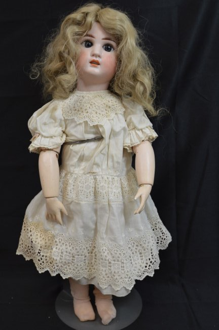 "Rare Antique German Franz Schmidt Doll 24"""