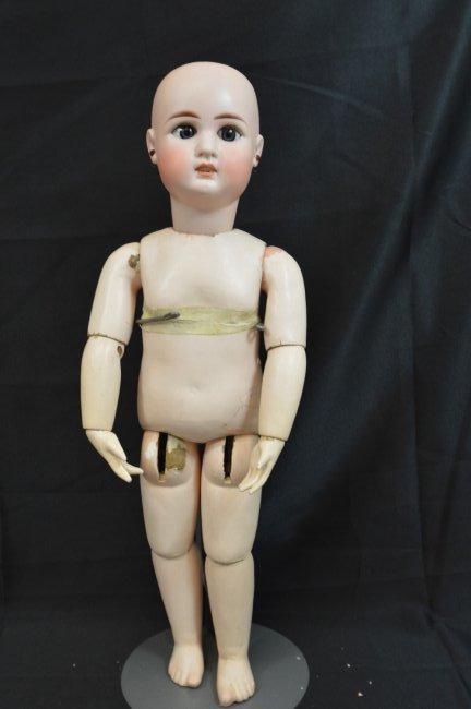 "Rare Antique German Franz Schmidt Doll 24"" - 3"