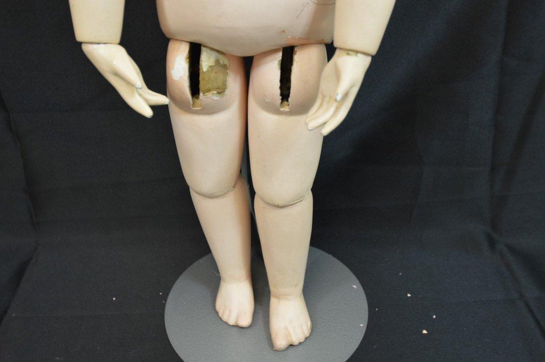 "Rare Antique German Franz Schmidt Doll 24"" - 4"