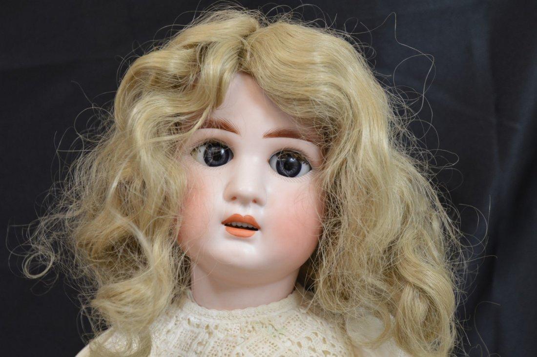 "Rare Antique German Franz Schmidt Doll 24"" - 8"