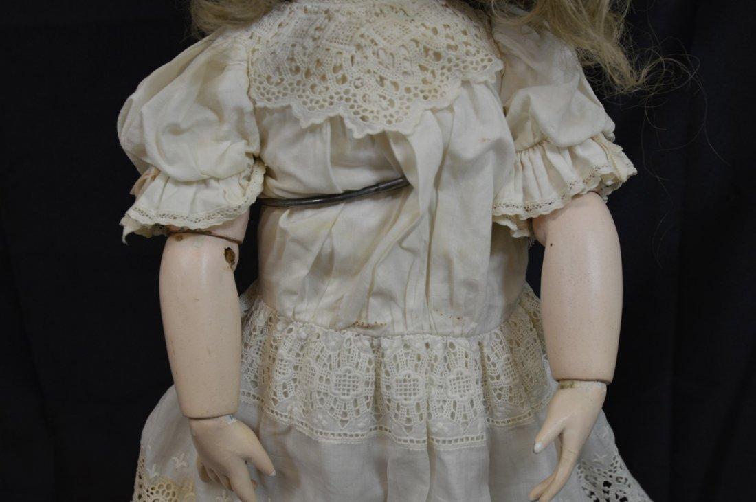 "Rare Antique German Franz Schmidt Doll 24"" - 9"