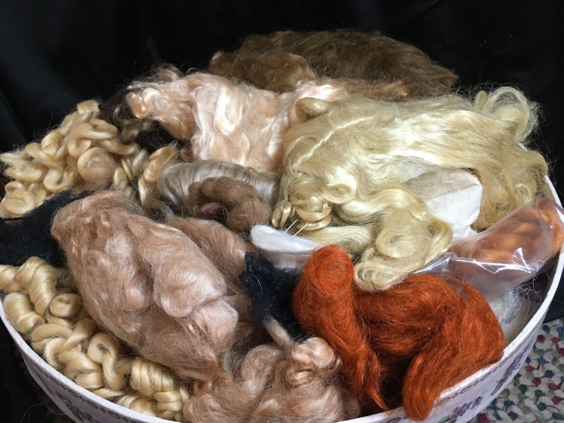 Large Lot of Mohair for Doll Wig Making - 2