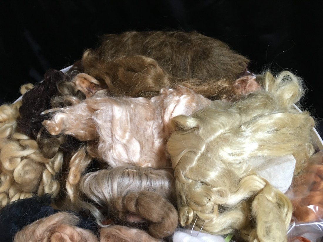 Large Lot of Mohair for Doll Wig Making - 3