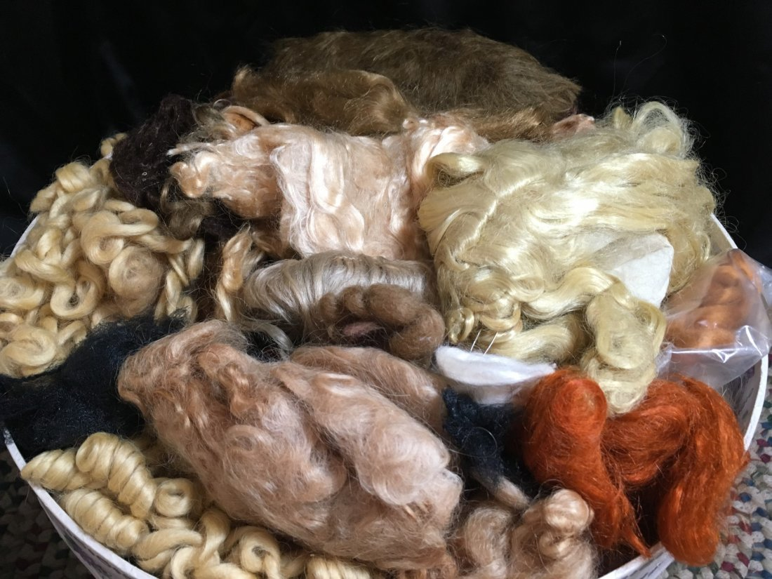 Large Lot of Mohair for Doll Wig Making - 4