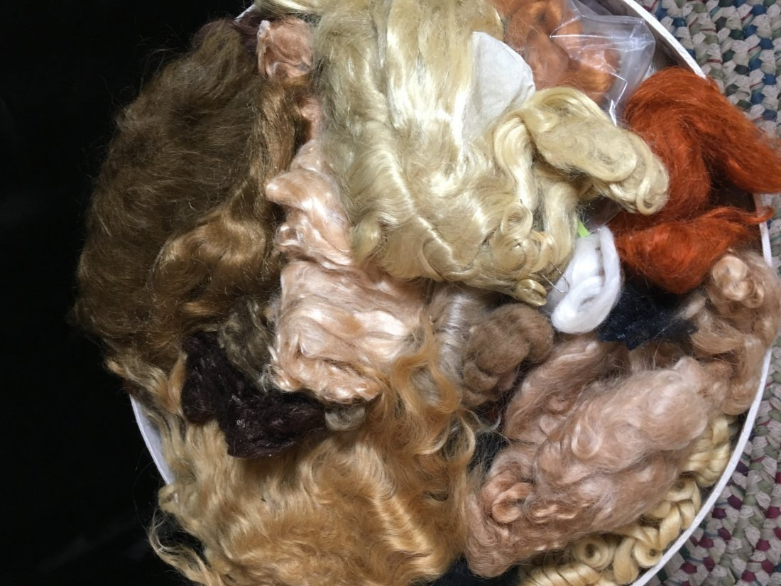 Large Lot of Mohair for Doll Wig Making - 5