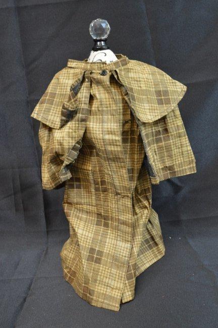 "Antique/Vintage  Doll Coat 14"" Long"