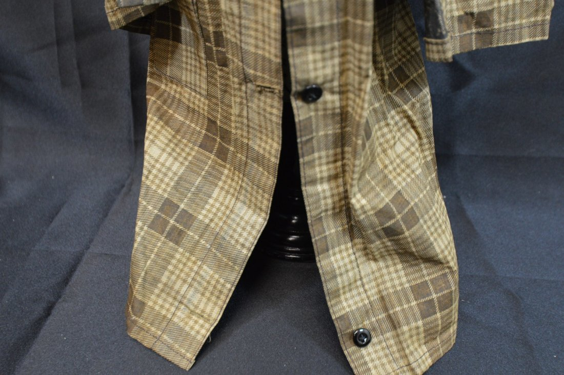 "Antique/Vintage  Doll Coat 14"" Long - 3"