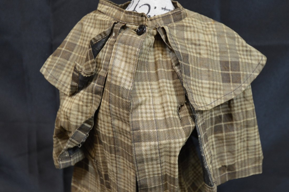 "Antique/Vintage  Doll Coat 14"" Long - 4"