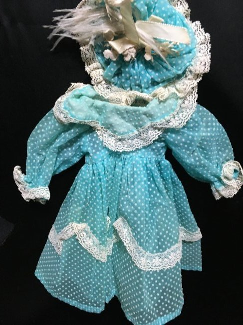 Lot of 16 Pcs Antique/Vintage Doll Clothing - 5
