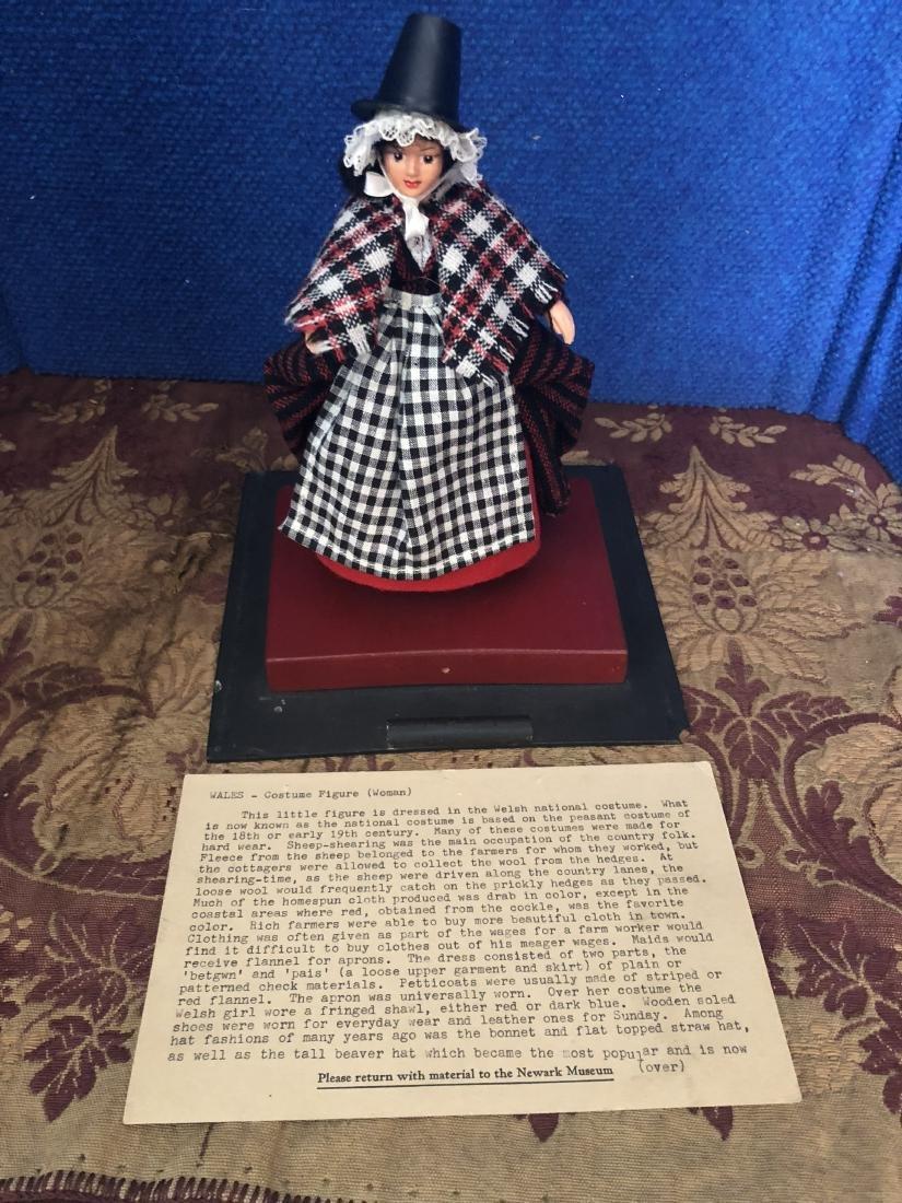 Costume Figurine of Welsh Woman