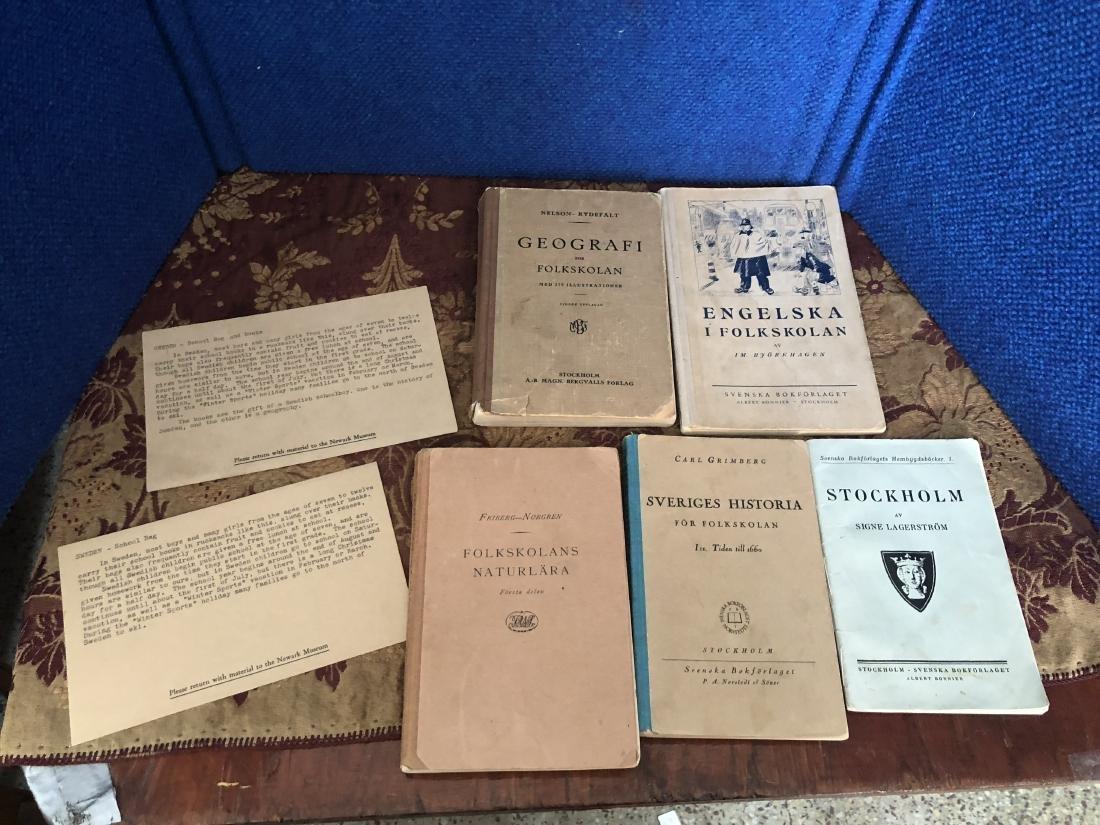 Swedish Canvas Bookbags and Textbooks