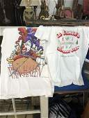 Two Concert T Shirts of Van Halen and La Bamba