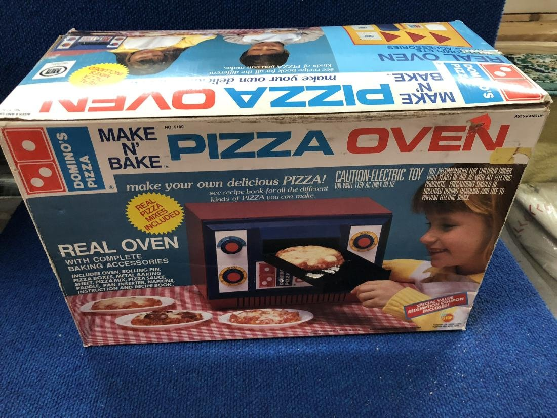 Vintage Domino's Pizza Oven Toy