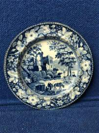 Antique Staffordshire Dinner Plate